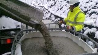 Добавки в бетон и раствор при минусовой температуре