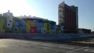 Первый аквапарк в Новосибирске