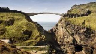 Представлены шесть необыкновенных проектов моста для замка в Великобритании