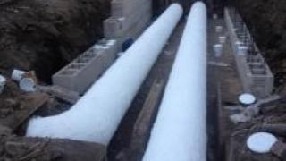 Произведена изоляция теплотрассы в городе Биробиджан