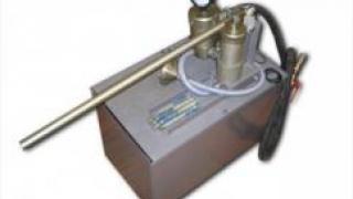 Ручной насос для инъектирования микроцементов (Скрепы М 600)