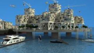 Самый первый город на воде построят у берегов Французской Полинезии