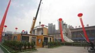 Сейсмоустойчивый дом напечатали на 3D-принтере в Китае