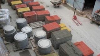 Тротуарную плитку будут делать из переработанных покрышек