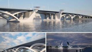 В Петербурге представлены три варианта нового моста через Неву