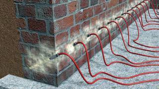 Инъектирование стен как метод безопасного восстановления зданий