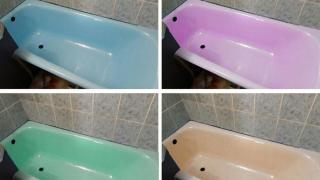 Реставрация ванн жидким акрилом от производителя