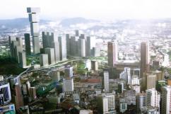 Bjarke Ingels Group разработали необычный проект небоскреба-перевертыша