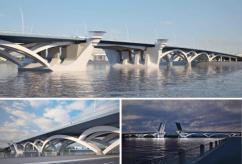 Жители Петербурга высказались за новый мост через Неву