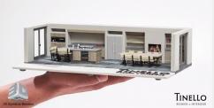 Голландская компания Tinello напечатает вашу кухню в 3D