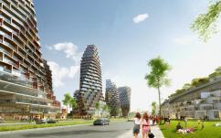 """Мастерская JDS architects построит в Стамбуле необычный комплекс """"Тетрис"""""""
