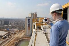 Объем строительства жилья в Москве в январе 2017 года снизился в 4,7 раза