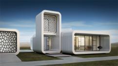Офис в Дубае построят при помощи строительного 3D-принтера