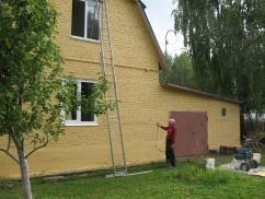 В Челябинской области прошла успешная теплоизоляция стен частного дома