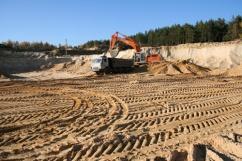 В Калининградской области предотвращают незаконную добычу песка и гравия
