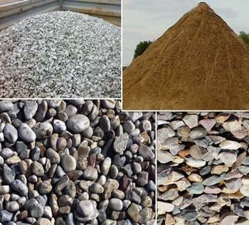 Сыпучие строительные материалы не рудного происхождения
