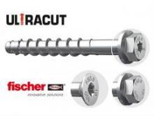 Fischer представляет инновационную линейку шурупов по бетону ULTRACUT FBS II