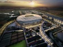 Грандиозный футбольный стадион в Катаре по проекту Arup