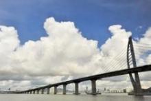 Химические и стальные анкеры fischer доказали свою надёжность в самом длинном морском мосте в мире