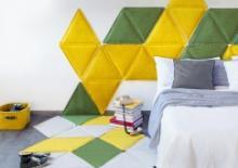 Итальянский дизайнер придумал мягкую модульную плитку