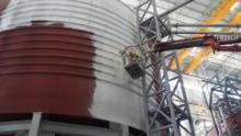 "Краска-термос ""Изоллат"" на заводе в Турции"