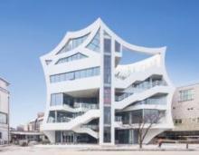 Многофункциональное здание-пламя в Корее [Фото]
