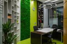 NAYADA выполнила проект оформления офиса ИТ-компании