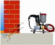 Остановка воды новым методом гидроизоляции
