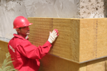 ROCKWOOL выпускает новые плиты двойной плотности для вентфасадов