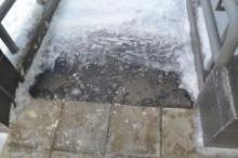 """""""Типром У1"""" защитит тротуарную плитку от обледенения в зимнее время"""