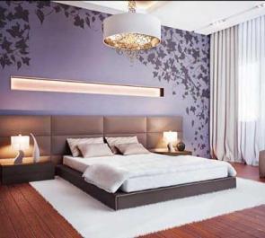 Люстры для спальни: виды, стили, советы